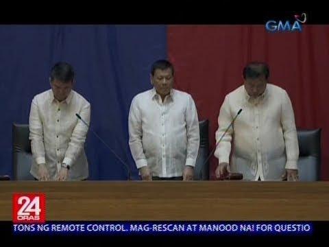 Pederalismo, Bangsamoro Organic Law at Universal Health Care act, posibleng talakayin ni Duterte