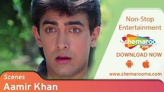 Best Aamir Khan scenes from Dil #1 - Madhuri Dixit  - Blockbuster 90