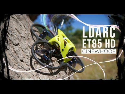 Ldarc ET85 HD Micro Cinewhoop - Test - Review - Recensione