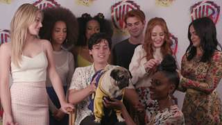Download Youtube: Doug the Pug Interviews RIVERDALE at Comic-Con 2017 #WBSDCC