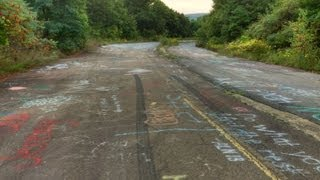 Urbex: CENTRALIA, PA GHOST TOWN Burning Underground