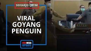 Viral Video Joget Pinguin Anggota DPRD di Sidoarjo, Bupati: untuk Merelaksasi Otot yang Kaku