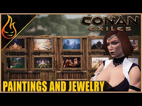 New Paintings And Jewelry Conan Exiles 2019 PTR Content
