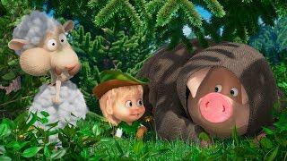 Маша та Ведмідь 🐑🐰 З Англії з любов'ю 🐰🐑(Лапи догори!)👱♀️Masha and the Bear