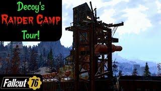 Fallout 76: Decoy's Raider Camp Tour!
