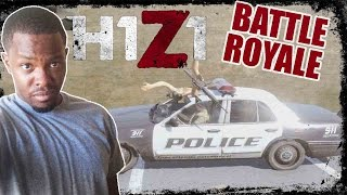 Battle Royale H1Z1 Gameplay - ROAD KILL! | H1Z1 BR Gameplay
