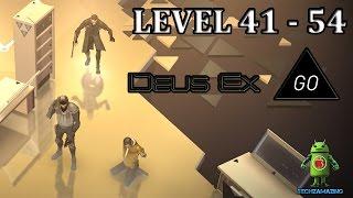 DEUS EX GO LEVEL 41 - LEVEL 54 GOLD iOS / Android Walkthrough