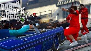 GTA 5 ONLINE   BLOODS VS CRIPS WAR EP. 1 WHO WINS ..