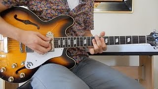 The Beatles - Sgt. Pepper's Lonely Hearts Club Band (Reprise) - Guitar Cover - Epiphone Casino