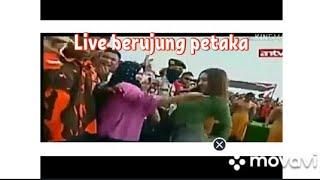 Detik Detik Pelecehan Pada Artis Cupi Cupita Saat Live ANTV Di Banyumas