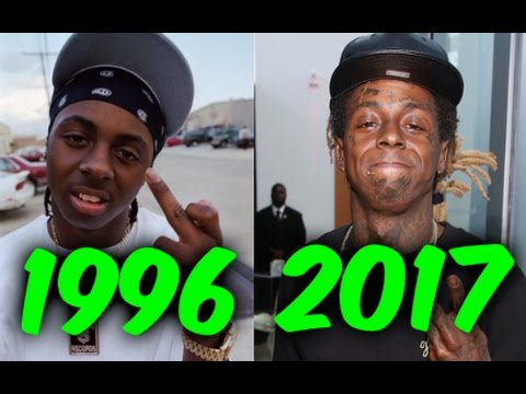 The Evolution of Lil Wayne (1996-2017)
