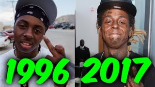 The Evolution of Lil Wayne (1996-2017)