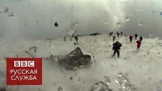 Извержение вулкана Этна: пострадала съемочная группа Би-би-си