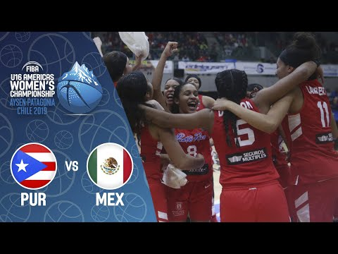 Puerto Rico v Mexico - FIBA U16 Women's Americas Championship 2019