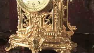 Louis XVI Style Antique French Clock Set