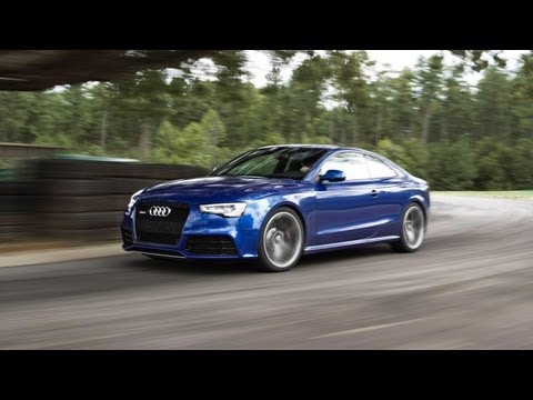 2013 Audi RS5 Track Test Video