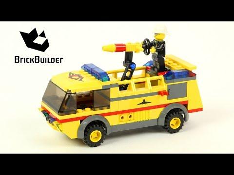 Vidéo LEGO City 7891 : Le camion des pompiers de l'aéroport