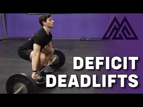 How to Perform a Deficit Deadlift