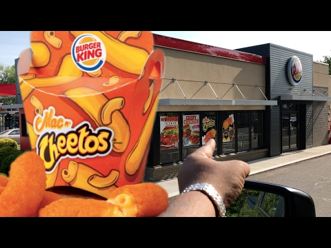 BURGER KING MAC N' CHEETOS TASTE TEST | BACK AGAIN!