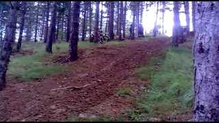 preview picture of video 'Cross Country Aibar2 2012 enduro'
