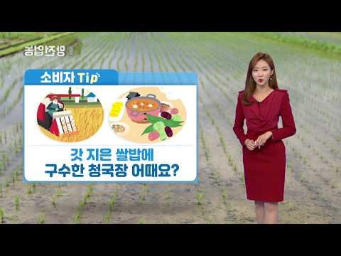 YTN 농업전망대(곡물 관측 11월) (2019.11.06) 이미지