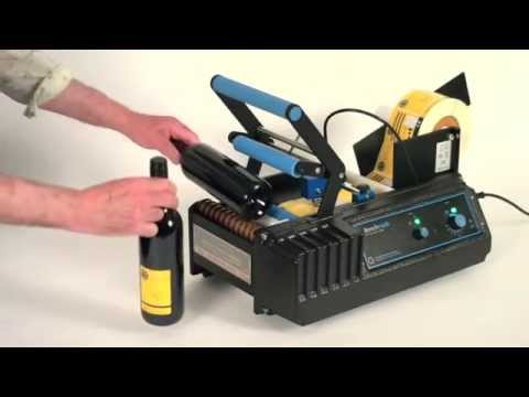 video BenchMARK Semi-Automatic Labeling Machine