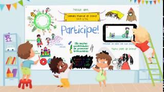 Semana Mundial do Brincar tem participação virtual de crianças santistas