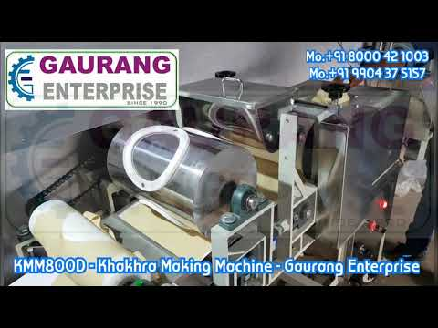 Mobile Mini Khakhra Making Machine