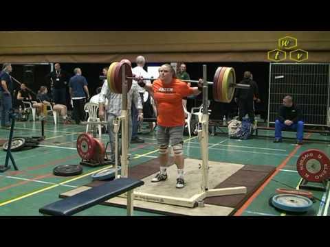 NK Powerliften 2010 in Cuijk