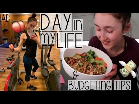A DAY IN MY LIFE VLOG | HOW I SAVE MONEY, EASY MEALS, WORK & WORKOUTS