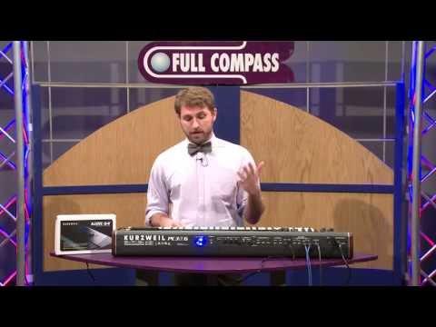 KURZWEIL PC3A7 Přenosné digitální stage piano