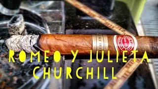 Cuban Cigar Review - Romeo y Julieta Churchill
