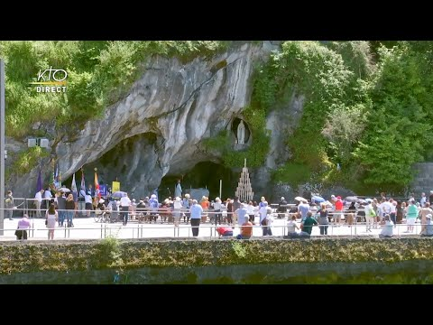 Chapelet à Lourdes du 21 juin 2020