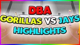DBA GORILLAS VS JAYS HIGHLIGHTS (ZURKED) RB WORLD 2!