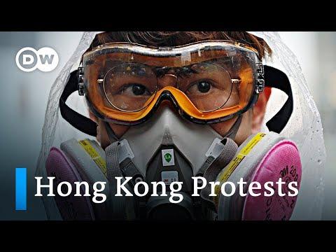 Violence escalates on the streets of Hong Kong | DW News