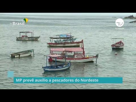 MP prevê auxílio a pescadores do Nordeste - 11/02/20