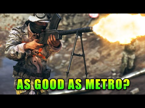 Metro Remake Is Here! Operation Underground Review - Battlefield V