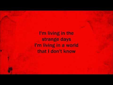 Strange days - Three Days Grace (Lyrics)