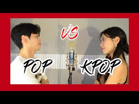 K-pop & Pop Mashup ,17 songs SING OFF vs NIDA (feat.BTS,Ariana Grande ..) / Kpop 과 Pop 의 대결