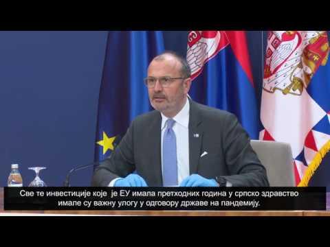 Sastanak šefa delegacije Evropske unije i ambasadora država članica sa državnim vrhom Srbije