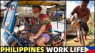 BecomingFilipino – WORKING IN BICOL – Hard Philippines Life For Island Community (Super Typhoon)