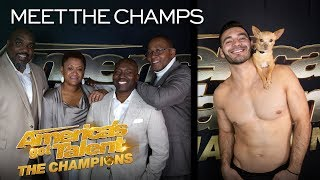 Christian & Percy and Voices of Service Want REDEMPTION! - America's Got Talent: The Champions thumbnail
