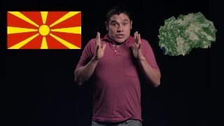 Geography Now! Rep. of Macedonia (F.Y.R.O.M)