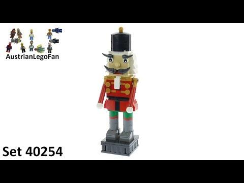Vidéo LEGO Saisonnier 40254 : Le casse-Noisette