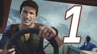 Uncharted 4: A Thiefs End Gameplay Walkthrough Part 1 - ACTION PACKED INTRO!