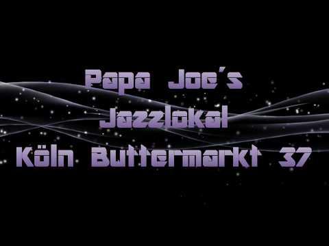Publicidad - Papa Joe´s Jazzlokal Biersalon klimperkasten Köln Deutschland
