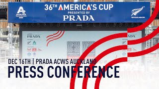 The PRADA America's Cup World Series Auckland FULL Press Conference