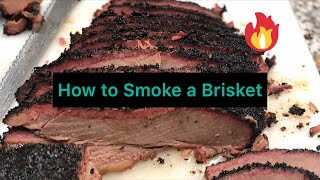 How to smoke brisket using the Weber kettle
