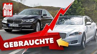 [AUTO BILD] BMW 7er vs. Jaguar XJ (2021)