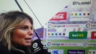 Entrevistas Y Goles Valladolid Vs SEVILLA...